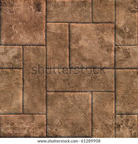 grunge wooden background (seamless) - stock photo
