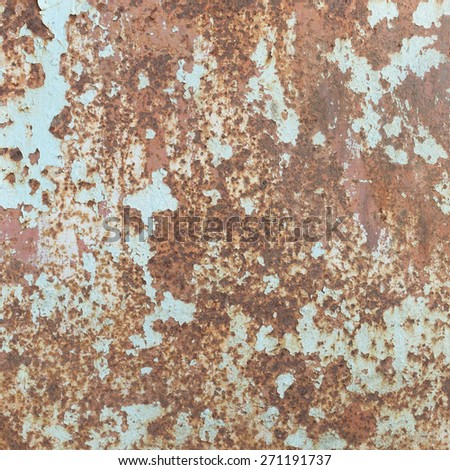Grungy and rust metal texture and background. - stock photo