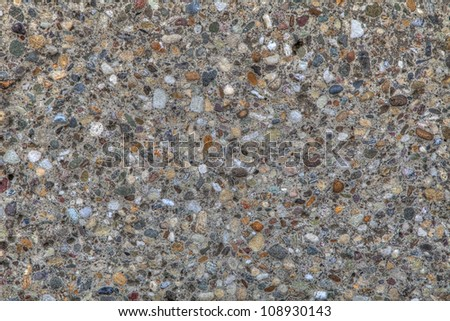Grungy and weathered old concrete background photo - stock photo