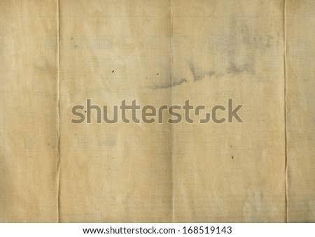 Grungy Old Folded Fabric - stock photo