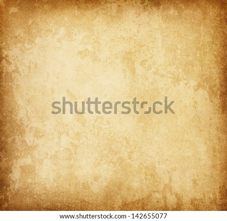 Grungy old paper - stock photo