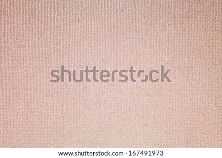 Grungy pink color recycle wood pulp paper for textural background.  - stock photo