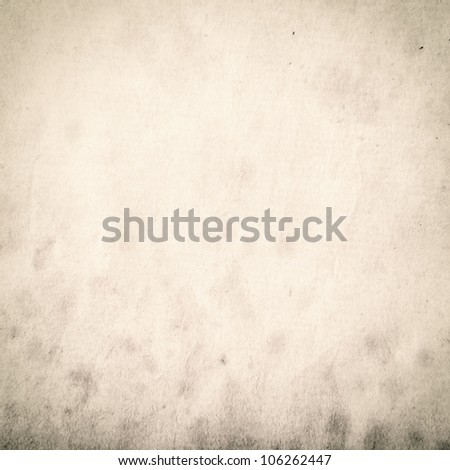 Grungy stained old paper - stock photo