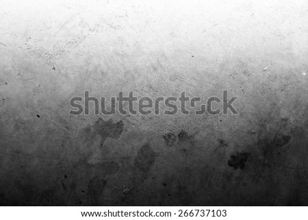 Grungy textured concrete wall, copy space - stock photo