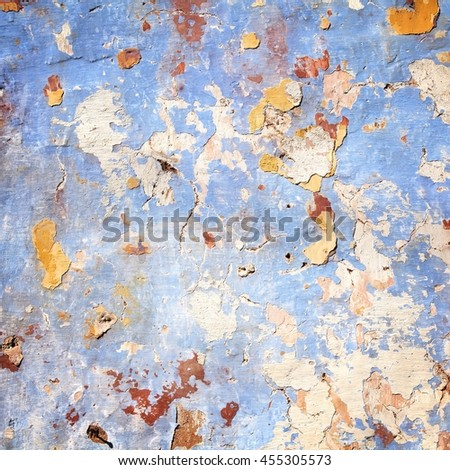 Grungy wall background texture. Architecture detail abstract. Flat surface. - stock photo