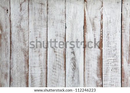 grungy white background of natural wood - stock photo