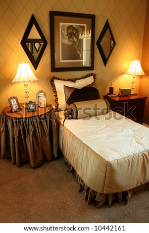 Guest Bedroom - stock photo