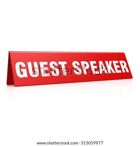Guest Speaker Stock Photos Images Amp Pictures Shutterstock