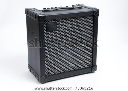 Guitar Amplifier - stock photo