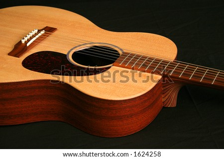 guitar, music - stock photo