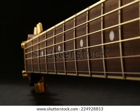 Guitar music           - stock photo
