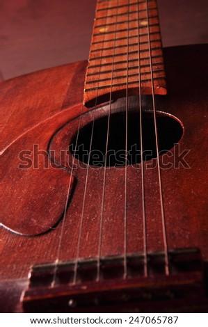 Guitar music - stock photo