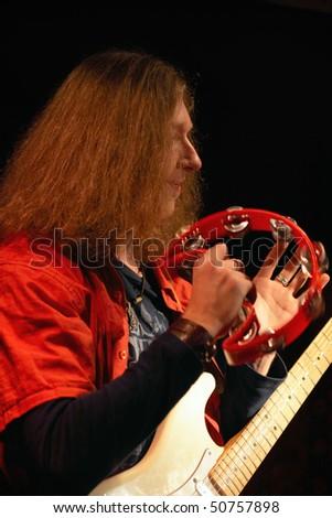guitarist - stock photo