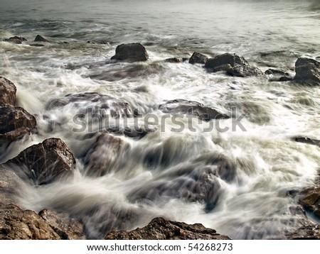 Gulf Coast - stock photo