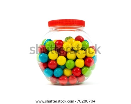how many gumballs are in a gumball machine