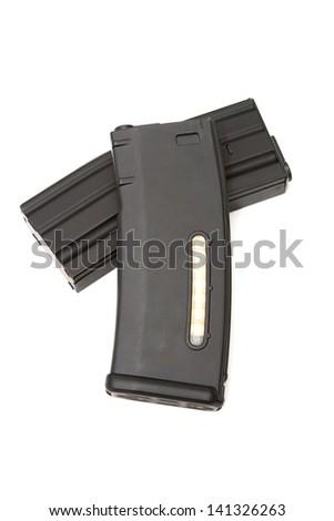 gun magazine - stock photo