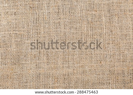 Gunny sack ,Hessian Texture from natural fibres use for background - stock photo