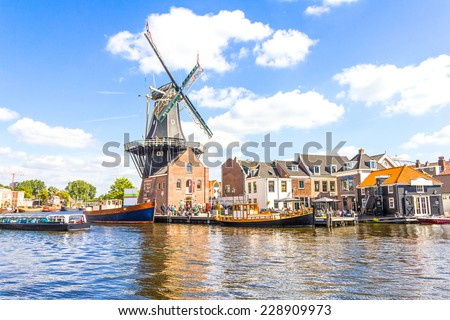 Haarlem, Netherlands - stock photo