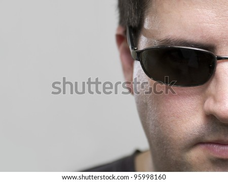 Hacker goes after your secure files - stock photo