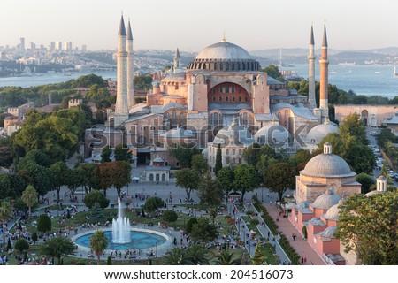 Hagia Sophia - stock photo