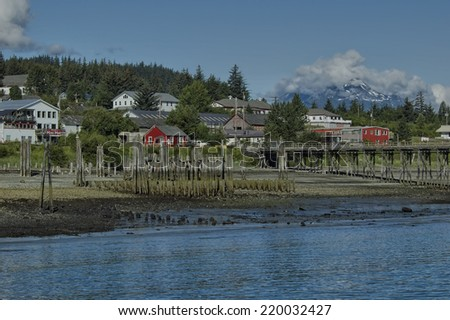 Haines, Alaska - stock photo