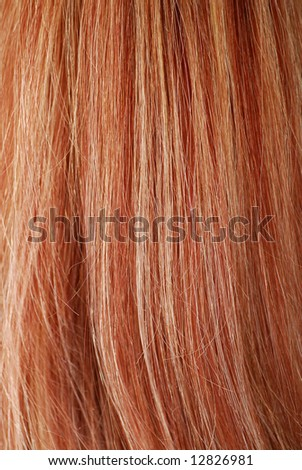 Hair pattern background of red and white - stock photo