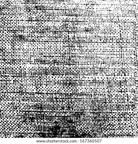 Halftone Distressed Texture for your design. Raster version of vector file number 165547931 - stock photo