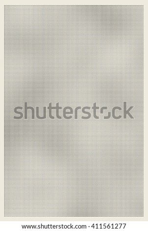 Halftone shaded retro old paper texture background - stock photo