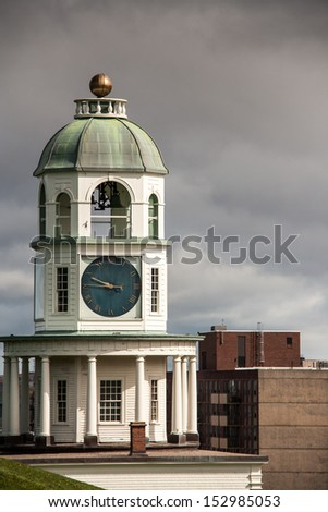 Halifax Town Clock - stock photo