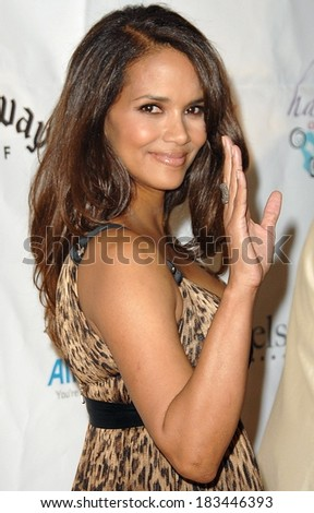 Halle Berry at Jenesse Silver Rose Gala & Auction, Beverly Hills Hotel, Beverly Hills, CA, April 27, 2008 Photo by David Longendyke/Everett Collection - stock photo