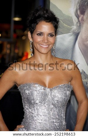 """Halle Berry at the Los Angeles premiere of """"Cloud Atlas"""" held at the Grauman's Chinese Theatre in Los Angeles, California, United States on October 24, 2012. - stock photo"""