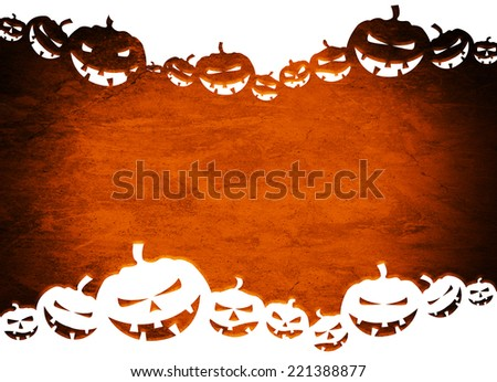 Halloween background for your design. - stock photo