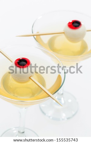 Halloween cocktail - stock photo