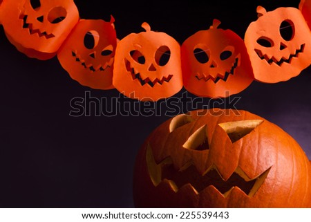 halloween party - stock photo