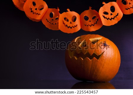halloween party - stock photo