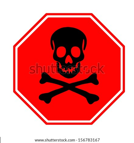 Halloween signpost shape and icon - stock photo
