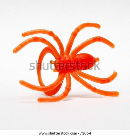 Halloween Spider Ring - stock photo
