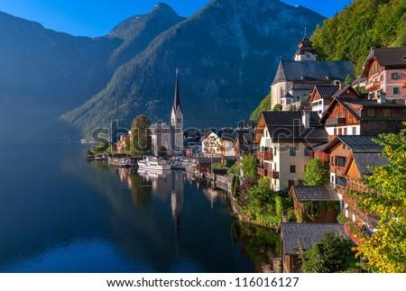 Hallstatt, Austria - stock photo