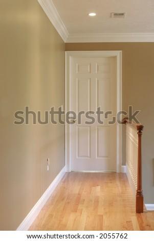 hallway - stock photo