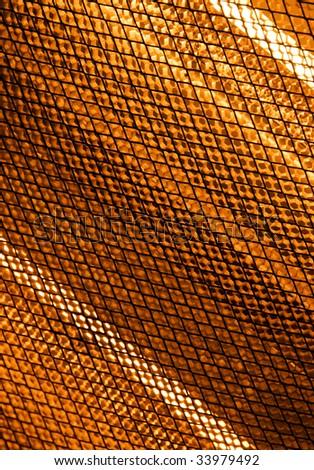 Halogen Heater Abstract - stock photo