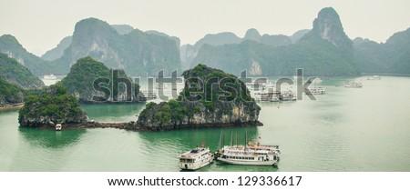 Halong Bay, Vietnam - stock photo