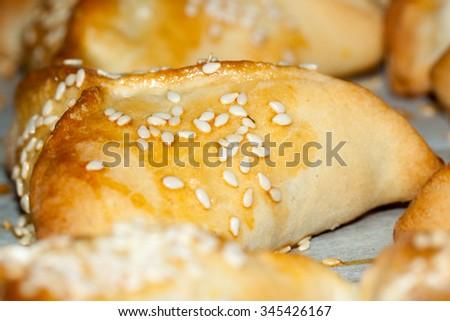 hamantash, ozen haman a traditional Jewish cuisine - stock photo