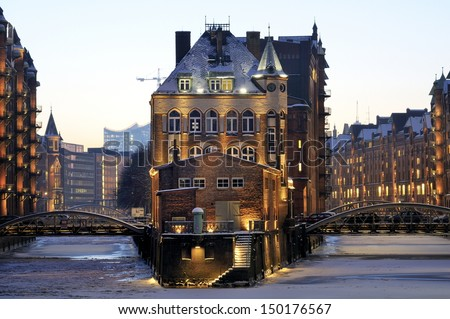 Hamburger Rathaus Town Hall of Hamburg - stock photo