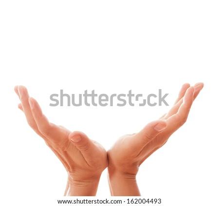 Hand concept - stock photo