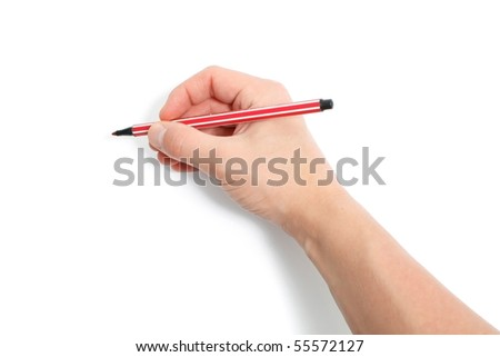 Hand drawing - stock photo