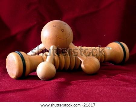 Hand massagers - stock photo