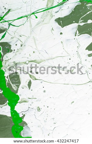 Hand painted abstract grunge background. Fragment of artwork. Colorful texture. acrylic painting on wood - stock photo