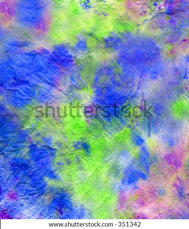 Hand Painted Background - stock photo