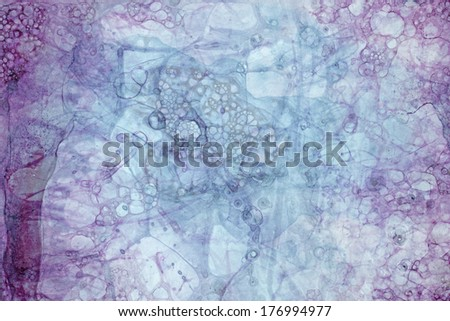Handmade Bubble Grunge Composition For Abstract Visual Solutions - stock photo