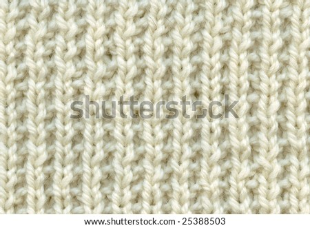Handmade knitted texture background, backdrop, closeup. - stock photo